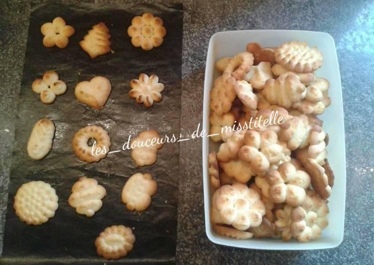 Biscuits au pistolet à pâte
