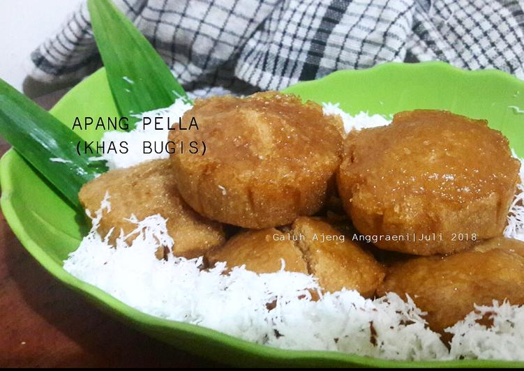 Apang Pella tepung beras (khas Bugis) - ganmen-kokoku.com