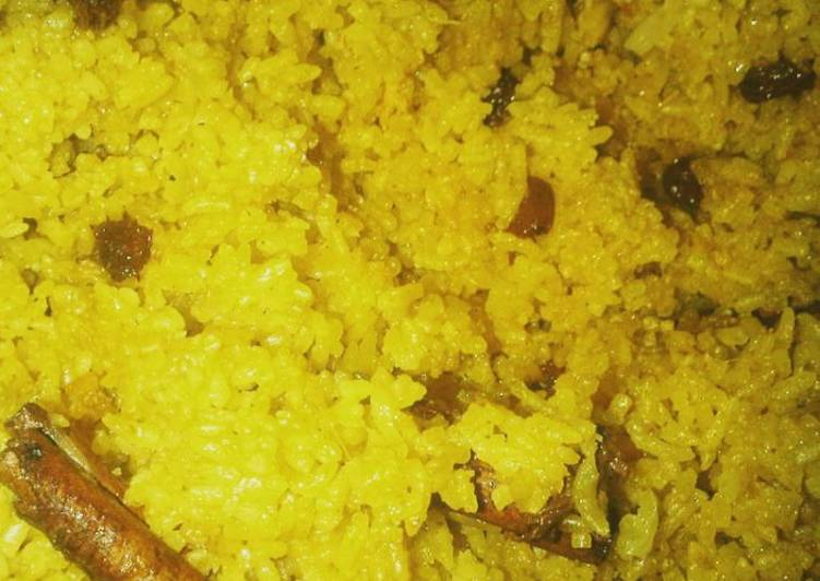 Nasi Minyak/ Nasi Samin Palembang