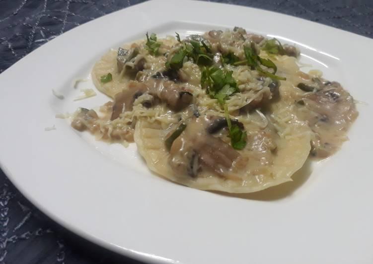 Recipe of Ultimate Mushroom Ravioli