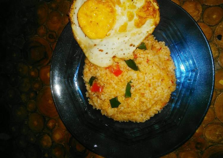 Kreasi Nasgor simpel. nasi goreng kencur.nasi goreng sehat
