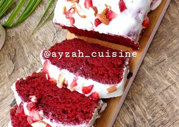 Recipe of Super Quick Homemade Red velvet cake loaf