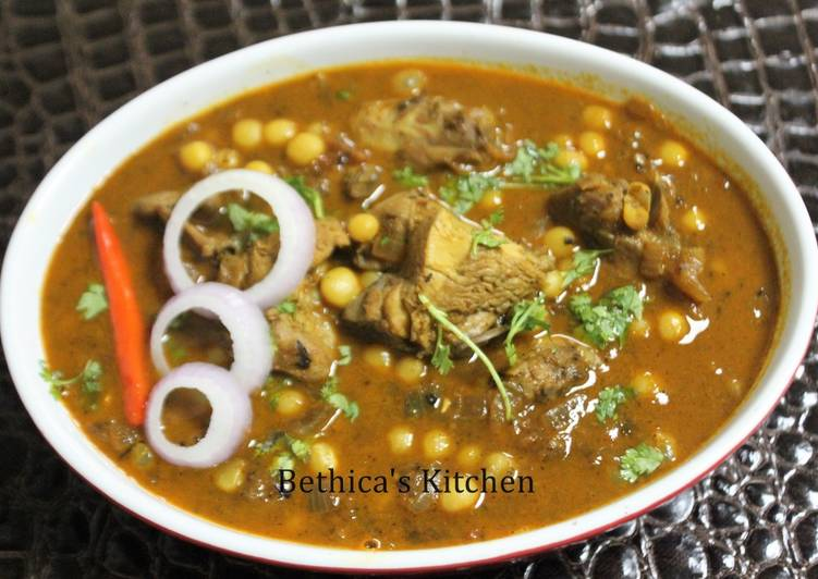 Chicken Peas Curry
