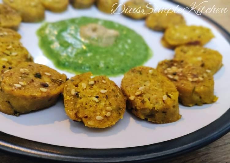 Wednesday Fresh Oats Dudhi Muthia