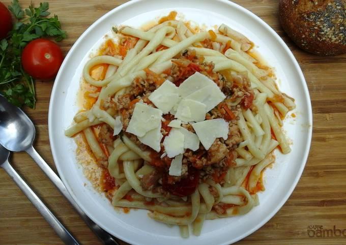 Recipe: Tasty Chicken Bolognese Recipe