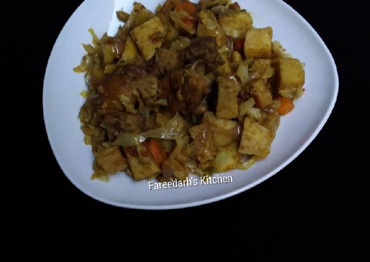 How to Prepare Quick Yam with Veggies