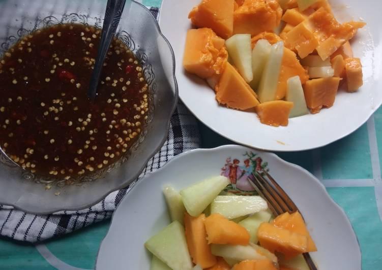 Sambal rujak buah