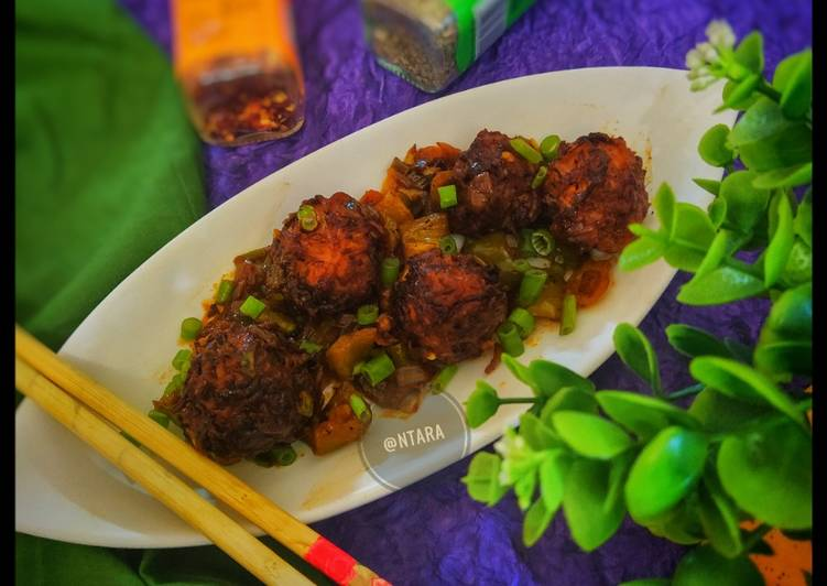 Recipe of Perfect Cabbage Manchurian