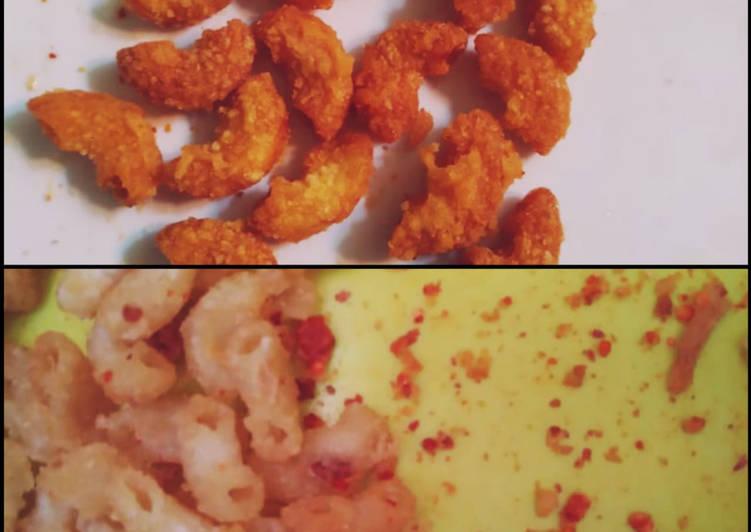 Makaroni goreng pedes (makaroni ngehe ala-ala)