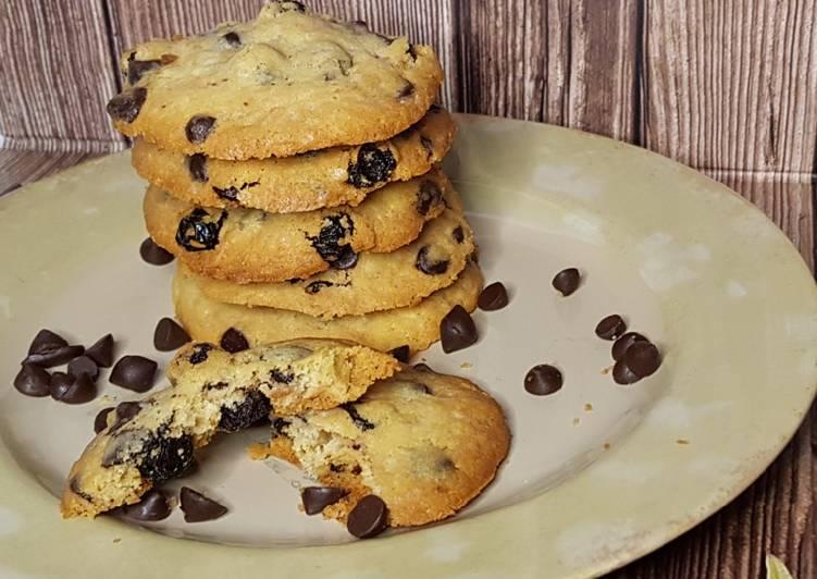Vanilla Chocochips Cookies Tintin Rayner