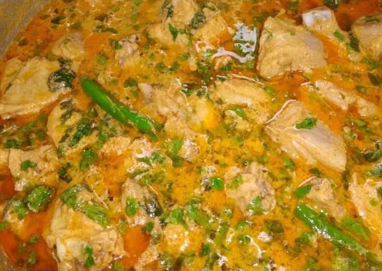 Curd chicken curry Choosing Healthy Fast Food