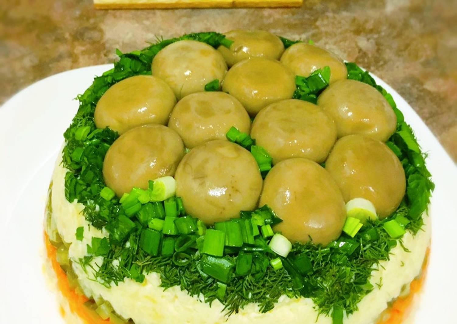 фото всю салат грибная поляна рецепт в картинках барнауле продают дизайнерскую