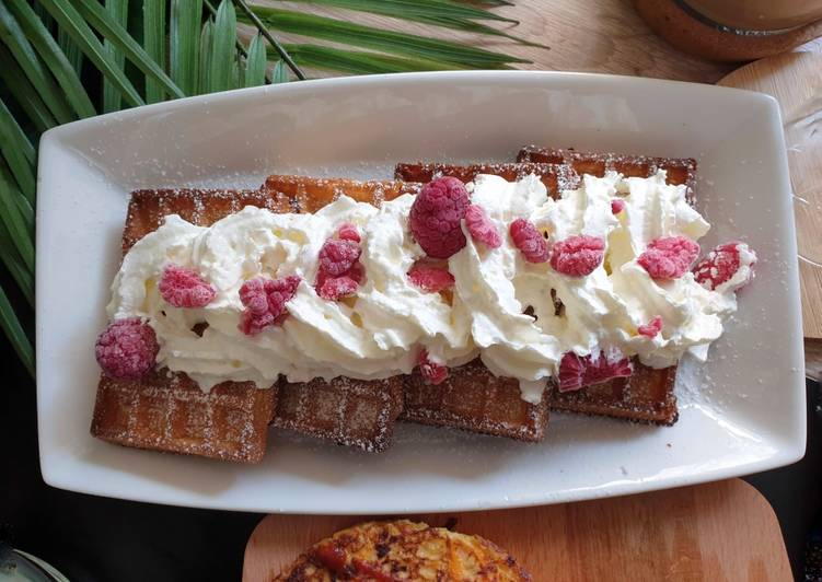 Step-by-Step Guide to Prepare Top-Rated Classic Belgian Waffle