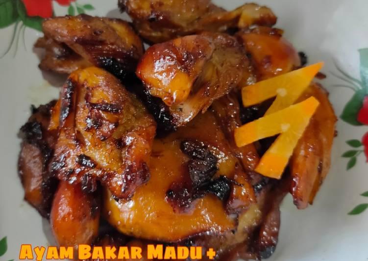 Ayam Bakar Madu + Sari Kurma || Sederhana