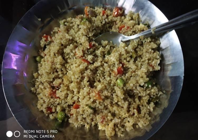 How to Prepare Perfect Quinoa upma