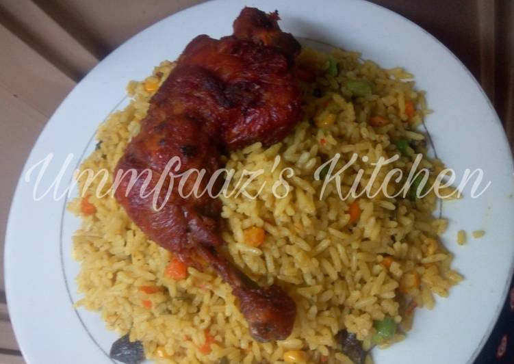 Guideline to Devise Flavorsome Fried rice and chicken