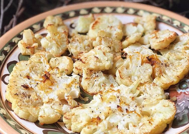 Рецепт запеченной цветной капусты при диете