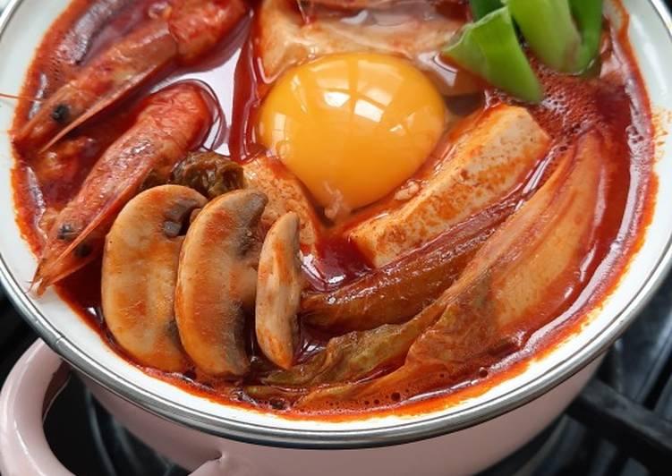 KOREAN Soft Tofu Stew / Sundubu Jjigae