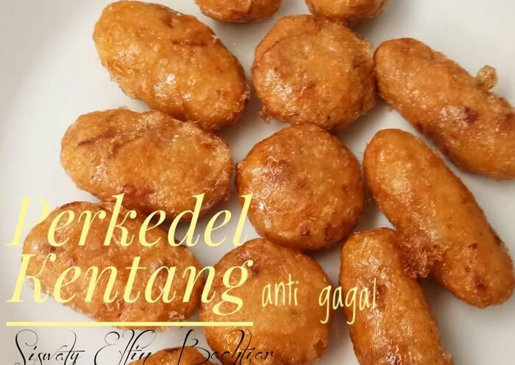 Perkedel kentang Anti Gagal