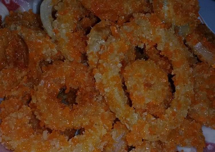 Onion ring super krispy