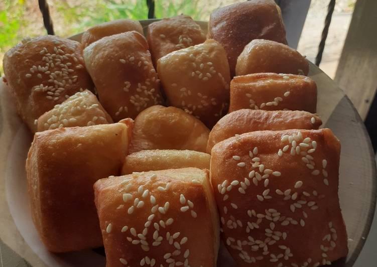 Resep Roti bantal/roti goreng yang Enak Banget