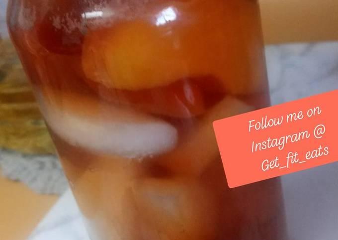 🍑peach ice tea