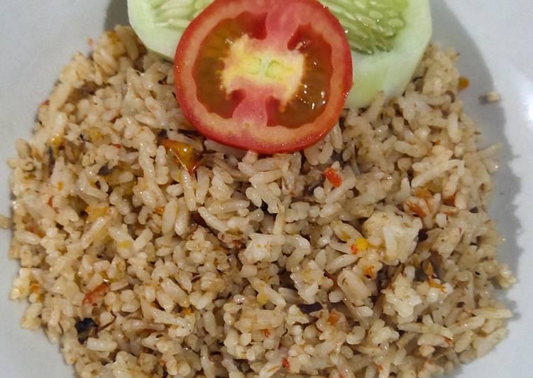 Resep 8. Nasi Goreng Special Tongkol, Enak