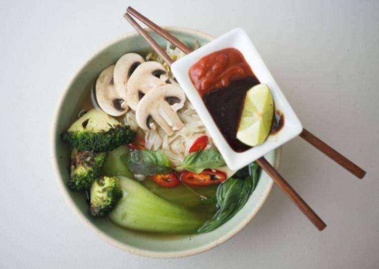 15 Minute Recipe of Quick Vegetarian Pho