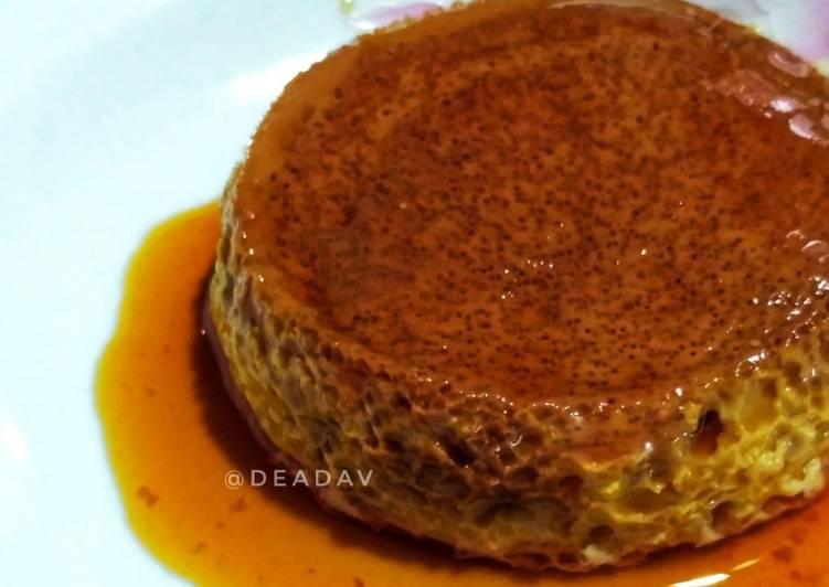 Caramel Custard Pudding / Japanese Milk Pudding