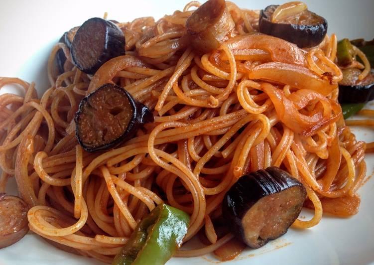 Recipe of Ultimate Spaghetti Neapolitana
