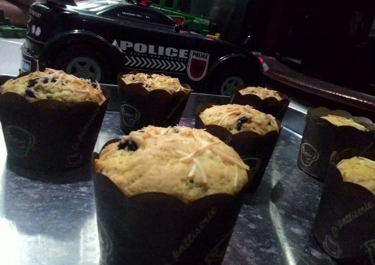 Muffin 'milky cheese' simpel dan cepat,yummy