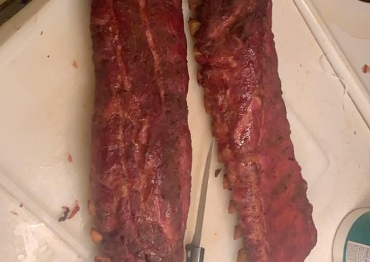 Pellet Smoker Ribs