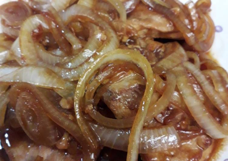 Resep Daging Babi Bawang Bombay Oleh Emma Quimada Cookpad