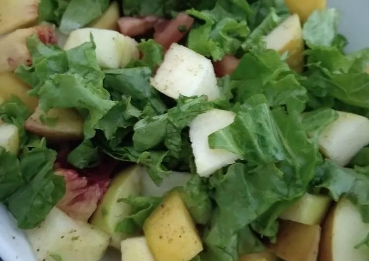 Simple Way to Make Homemade Fruit salad