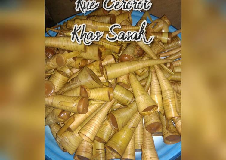 Resep Kue Cerorot Khas Suku Sasak Lombok Simple Tradisional Oleh Dapurnadia Cookpad