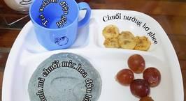 Hình ảnh món #32 | Bánh mì chuối mix hoa đậu biếc & Chuối nướng bơ ghee
