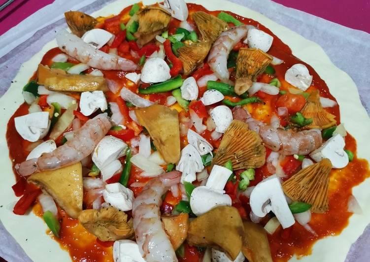 Pizza rápida gourmet