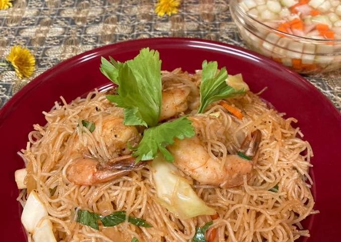 Shrimp Fried Vermicelli/Bihun Goreng Udang