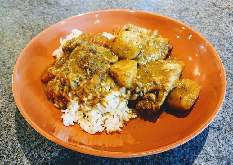 Easiest Way to Prepare Award-winning Portuguese Chicken Curry