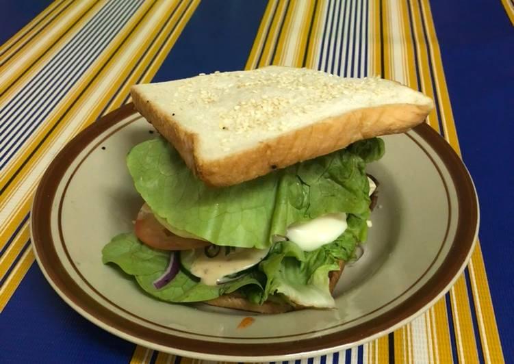 Resepi:  Home made burger  Dirumah