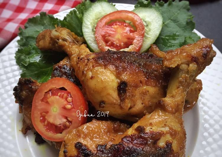 Paha Ayam Panggang Manis