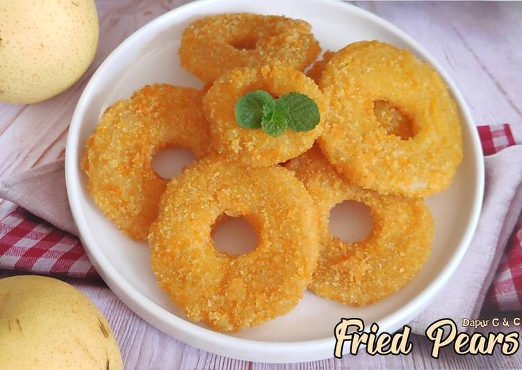 fried-pears