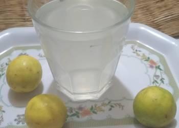 Easiest Way to Make Tasty Lemon juice