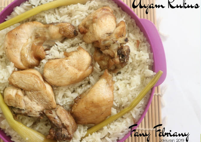 Resep Nasi Liwet Ayam Kukus Oleh Fany Febriany Cookpad