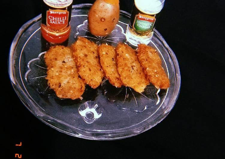 Recipe: Delicious Potatoes hash brown with MacDonald's style ????
