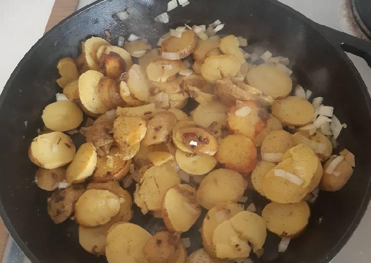 Rezept: lecker Schnelle Bratkartoffeln