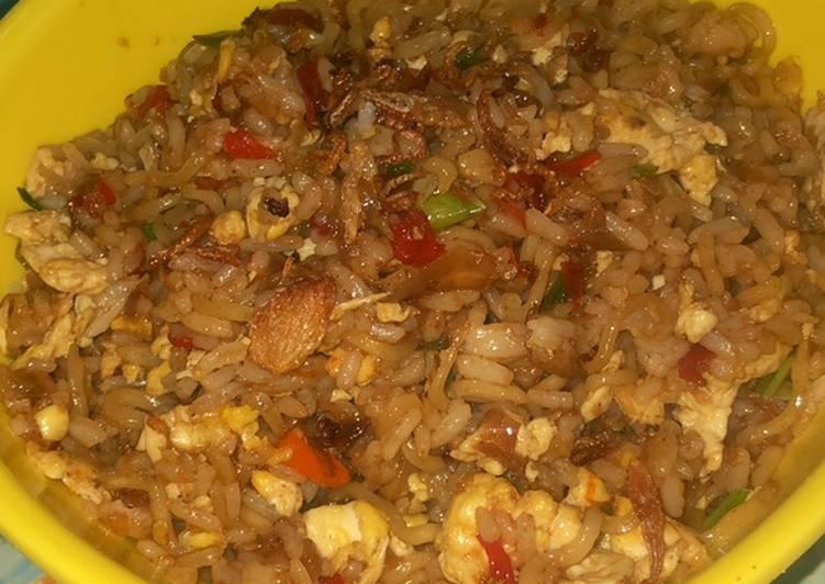 Nasi Goreng Mawut / Magelangan Indomie Enak dan Mudah