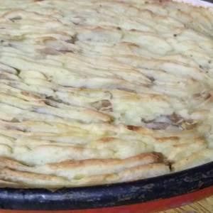 Pastel de papas vegetariano (c/ soja texturizada)