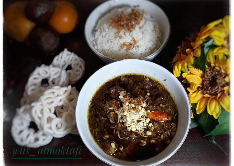 Resep Rawon Daging Sapi Khas Jawa Timur Oleh Basmala Iis Almoktafi