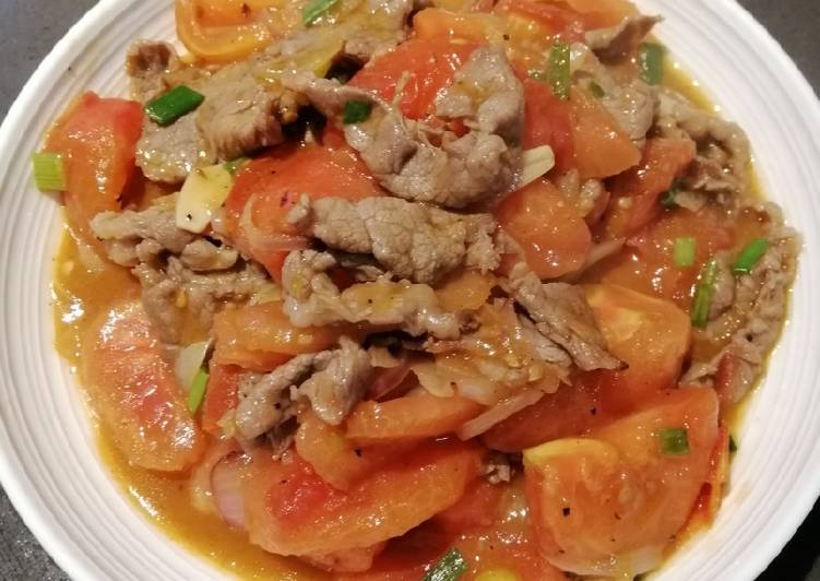 Tomatoes with Beef